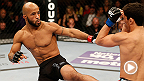UFC commentator Joe Rogan gives an in-depth look into the main and co-main events of Demetrious Johnson-Kyoji Horiguchi and Michael Bisping-CB Dollaway.