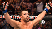 UFC middleweight Luke Rockhold spoke to Joe Rogan inside the Octagon after his enormous win against Lyoto Machida in the main event of Fight Night New Jersey.