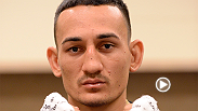 Max Holloway talks with UFC correspondent Megan Olivi about his guillotine choke finish against UFC veteran Cub Swanson at Fight Night New Jersey.