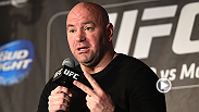 UFC president Dana White spoke with correspondent Megan Olivi about Paige VanZant, Max Holloway, Luke Rockhold, and more from Fight Night New Jersey.