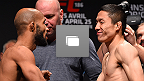 UFC 186 Ultimate Weigh-In Gallery