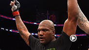 UFC legend Rampage Jackson speaks to Joe Rogan inside the Octagon after his win against Fabio Maldonado at UFC 186.