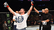 Michael Bisping was successful at UFC 186, winning by unanimous decision against CB Dollaway. Bisping spoke to UFC correspondent Megan Olivi backstage after the event.