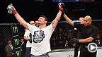UFC 186: Michael Bisping Backstage Interview