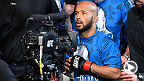 UFC flyweight champion Demetrious Johnson defended his title for the sixth time at UFC 186, beating Kyoji Horiguchi by armbar in the fifth round. He spoke with UFC correspondent Megan Olivi about his performance.