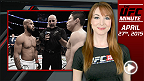 UFC Minute host Lisa Foiles runs down all that went down at UFC 186 on Saturday night.