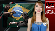 UFC Minute host Lisa Foiles gives an update on the UFC rankings and previews The Ultimate Fighter Brazil 4: Episode 4.