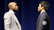 Hear from some of the UFC's top fighters as they give their predictions and analysis of the Floyd Mayweather Jr. vs. Manny Pacquiao fight. Demetrious Johnson, Luke Rockhold, Lyoto Machida, and more give their takes.