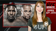 UFC Minute host Lisa Foiles details the big changes to UFC 187, including Jon Jones' removal and the new main event between Daniel Cormier and Anthony Johnson for the vacant UFC light heavyweight title.