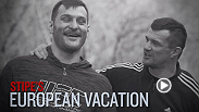 Stipe Miocic may be an Ohio native, but his parents are both from Croatia. Miocic got back to his roots for his last fight camp, heading to the homeland to train with friend Mirko Crop Cop. Miocic faces Mark Hunt in the main event of Fight Night Adelaide.