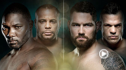 Anthony Johnson and Daniel Cormier meet in the main event of UFC 187 for the vacant UFC light heavyweight title. In the co-main event, Chris Weidman faces Vitor Belfort for the UFC middleweight championship.