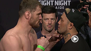 Watch the official weigh-in for UFC Fight Night: Miocic vs. Hunt.