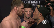Watch the official weigh-in for UFC Fight Night: Miocic vs. Hunt live Friday, May 8 at 2:30am BST.