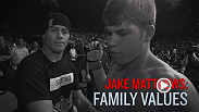 "Jake Matthews credits his father, Mick Matthews, for helping him to climb his way to the UFC. Matthews' dad is in his corner every fight, and he'll be there once again when undefeated ""The Celtic Kid"" faces James Vick at Fight Night Adelaide."