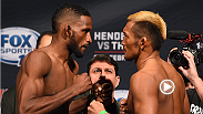Welterweight Neil Magny sinks in a rear naked choke on Kiichi Kunimoto to earn a third round submission victory inside the Octagon. Next Magny takes on jiu-jitsu master Demian Maia as the main event of the prelims for UFC 190.