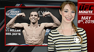 UFC Minute host Lisa Foiles details Anthony Pettis' injury forcing him out of Fight Night Chicago, and announces his replacement.