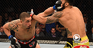 Middleweight Robert Whittaker spoke to UFC commentator Jon Anik after his impressive first-round knockout victory against Brad Tavares at Fight Night Adelaide.