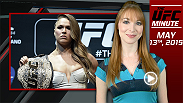 "UFC Minute host Lisa Foiles runs down Ronda Rousey's big week, including her new book ""My Fight, Your Fight"" and the news that she'll appear on the cover of the May 18 edition of Sports Illustrated."