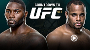With the UFC light heavyweight title lying vacant, top contenders Anthony Johnson and Daniel Cormier will wage war in the main event of UFC 187 to lay claim to the title. Go inside the fight camps of both fighters for an in-depth look at the fight.