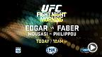 Fight Morning Manila: Edgar vs. Faber Live Today on FOX Sports 1