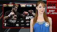 UFC Minute host Lisa Foiles quickly runs down the headliners of UFC 187 this weekend in Las Vegas, specifically Daniel Cormier.