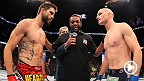 "Inside the Octagon, a welterweight slugfest goes down between Carlos ""The Natural Born Killer"" Condit and Martin Kampmann. Condit battles Thiago Alves in the main event at UFC Fight Night in Goiania, Brazil."