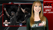 UFC Minute host Lisa Foiles briefly looks ahead to episode 5 of The Ultimate Fighter: American Top Team vs. Blackzilians and details the newest UFC.com feature on light heavyweight No. 1 contender Anthony Johnson.