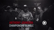 "UFC correspondent Megan Olivi sits down with Anthony ""Rumble"" Johnson to talk about his opponent change, his fight camp, and more. ""Rumble"" battles Daniel Cormier in the main event for the vacant light heavyweight title at UFC 187 in Las Vegas."