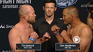 Watch the official weigh-in for UFC Fight Night: Boetsch vs. Henderson live Friday, June 5 at 5pm/2pm ETPT.