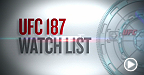 UFC 187: Watch List