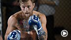 UFC featherweight No. 1 contender Conor McGregor held a media work out on Thursday while he trains for his UFC 189 title fight in Las Vegas. He spoke to UFC correspondent about the main and co-main events of UFC 187.