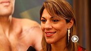 Watch the Q&A featuring women's bantamweight contender Bethe Correia and welterweight contender Erick Silva.