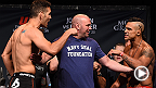 UFC correspondent Megan Olivi recaps the UFC 187 weigh-ins that went down Friday at the MGM Grand in Las Vegas. Catch the staredowns and brief interviews with the main and co-main event fighters set to compete on Pay-Per-View Saturday night.