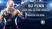 """The Prodigy"" BJ Penn is one of the best pound-4-pound fighters to ever grace the Octagon, and on July 11, Penn will be inducted into the UFC Hall Of Fame as part of International Fight Week and the Fan Expo in Las Vegas."