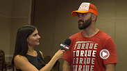 UFC correspondent Megan Olivi catches up with heavyweight contender Andrei Arlovski backstage to talk about his first round knockout victory over Travis Browne.