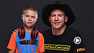 "UFC lightweight title contender Donald ""Cowboy"" Cerrone chats with correspondent Megan Olivi backstage about his fight, what he looks forward to, and about being a mentor to his little brother."