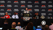 The UFC 187 post-fight press conference got a little heated with an unexpected fighter speaking his mind. Check out the highlights.
