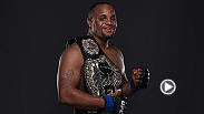 The new UFC light heavyweight champion Daniel Cormier took a few minutes after his victory against Anthony Johnson to talk about his performance with UFC correspondent Megan Olivi.