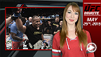 UFC Minute host Lisa Foiles runs down what went down in the main and co-main event at UFC 187 on Saturday Night at MGM Grand in Las Vegas.