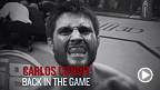 UFC welterweight Carlos Condit has been out of action recovering from a serious knee injury. Talk about the former interim champion talk about his road to recovery and his opponent at Fight Goiania: Thiago Alves.