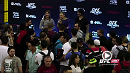 UFC fighters and UFC Octagon girls interacted with fans at the UFC Fight Night: Condit vs. Alves fan event in Goiania, Brazil. Check out the recap.