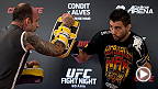 Check out the Fight Night Goiania open workout highlights featuring the main and co-main event stars Carlos Condit, Thiago Alves, Nik Lentz, and Charles Oliveira.