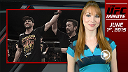 UFC Minute host Lisa Foiles recaps the main and co-main events from Fight Night Goiania.