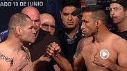 Watch the official weigh-in for UFC 188: Velasquez vs. Werdum.