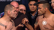 Watch the official weigh-in for UFC 188: Velasquez vs. Werdum, live Friday, June 12 at midnight BST.