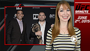 UFC Minute host Lisa Foiles runs down the must-see videos for UFC 188 in Mexico City and UFC 189 in Las Vegas.