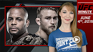 UFC Minute host Lisa Foiles runs down two big future bout announcements that happened on Wednesday pertaining to UFC champions Daniel Cormier and Chris Weidman.