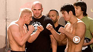 Featherweight Dennis Siver uses his power and lands a huge left hook on Naoyuki Kotani to end the fight with a knockout victory. Siver aims to do the same thing when he faces Tatsuya Kawajiri during the main card at UFC Fight Night in Berlin, Germany.