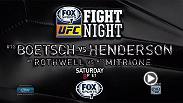 It's going to be a night of explosive knockout masters when middleweights Dan Henderson and Tim Boetsch and heavyweights Matt Mitrione and Ben Rothwell collide at Fight Night New Orleans on Saturday night on FOX Sports 1 at 8pm/5pm ETPT.