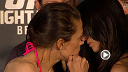 Watch the official weigh-in for UFC Fight Night: Jedrzejczyk vs. Penne